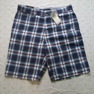 Men's Tommy Hilfiger Plaid Shorts, Size 30W